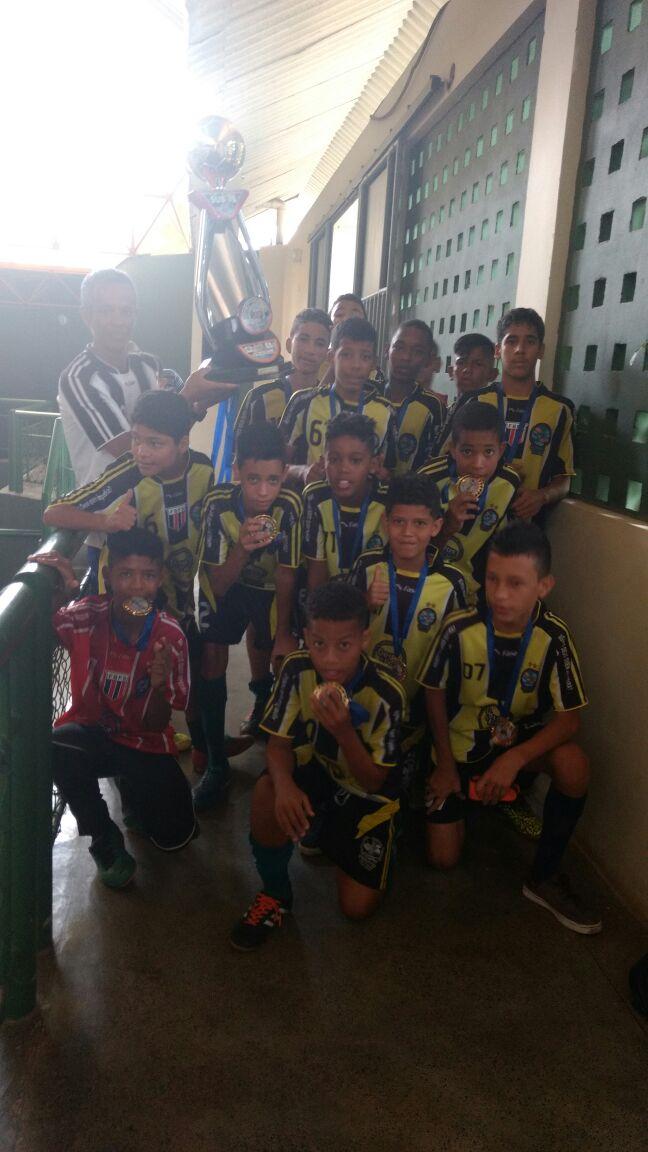 Projeto Social Salvador  Campeão Baiano Sub-15