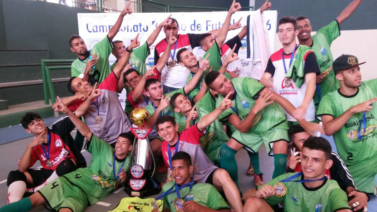 Conquista/CTAF/Iguaí  Campeão Baiano Sub-20