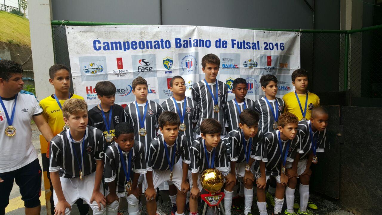 GAP - Grupo Amigo do Peito  Campeão Baiano Sub-13