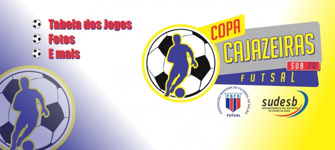 Slide Home - Copa Cajazeiras Futsal Sub20